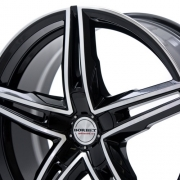 Borbet XRS black polished glossy
