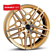 Borbet GTY gold polished matt