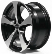 Borbet CC black polished matt